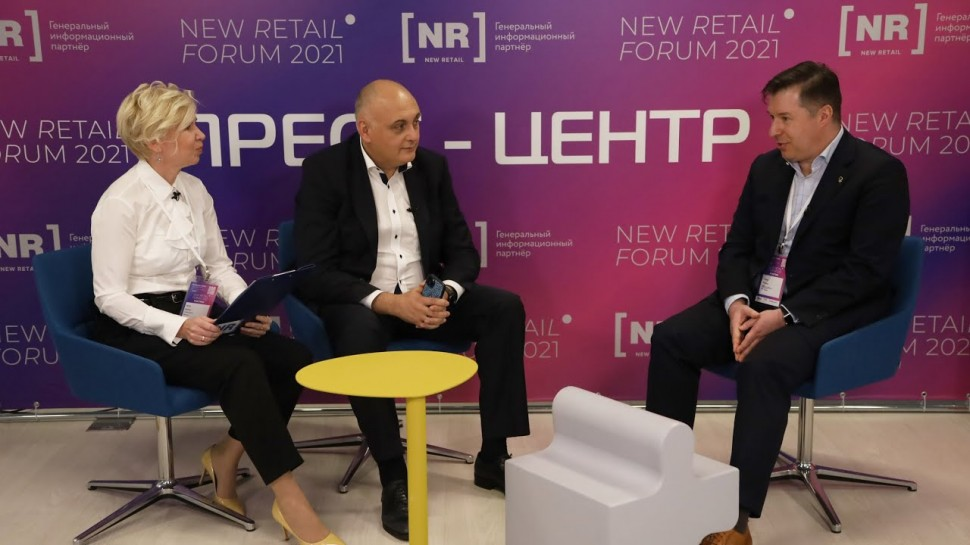 Novardis: Сергей Коротков (Лента) – гость пресс-центра New Retail Forum
