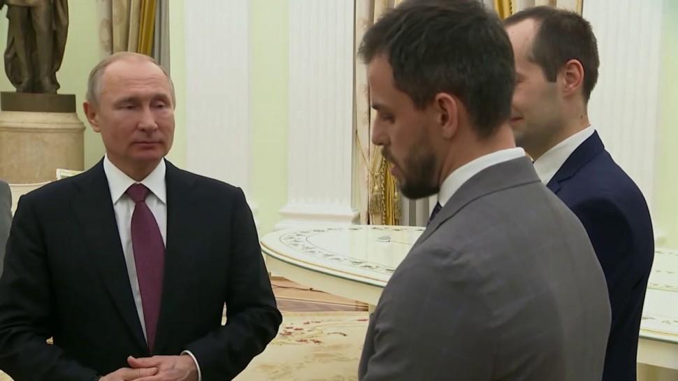 GroupIB: Встреча с Президентом