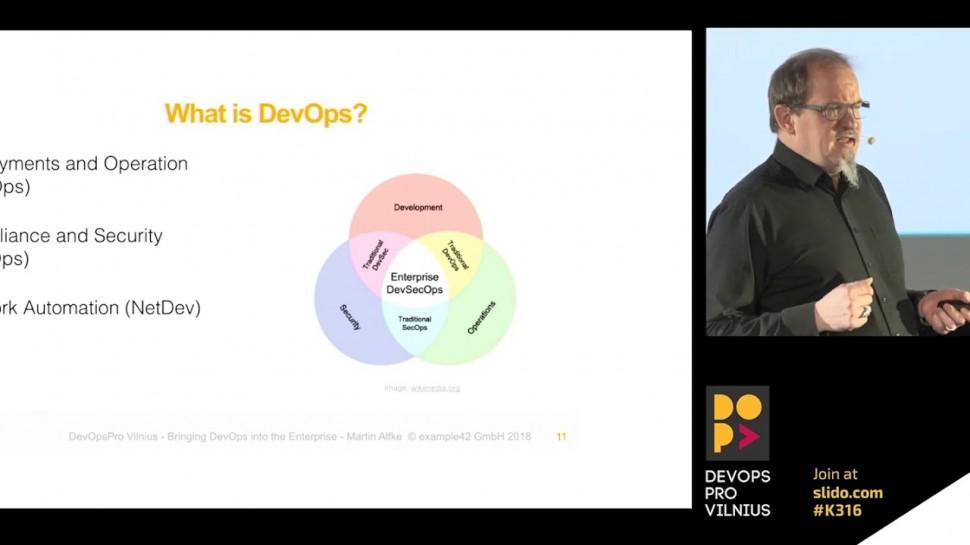 DATA MINER: Bringing DevOps into the Enterprise by Martin Alfke