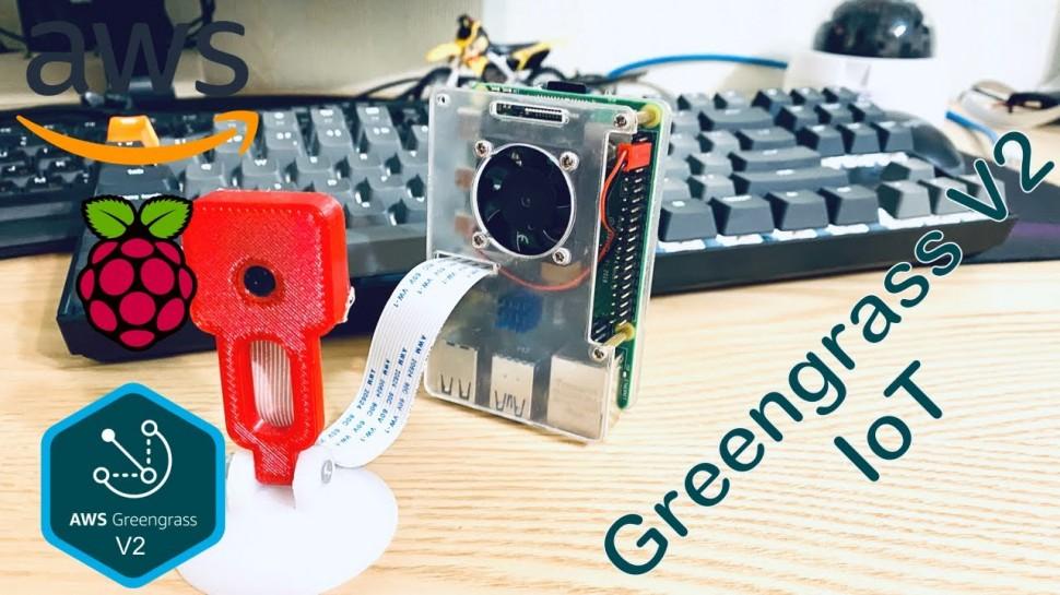 Разработка iot: IoT на основе Amazon Greengrass V2 - Аранжировка интернет вещей и компонентов - виде