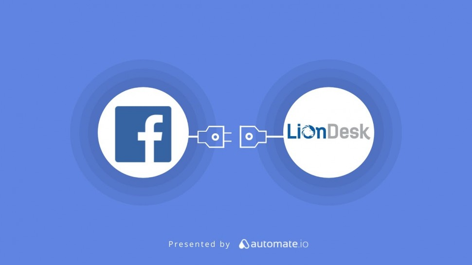 CRM: Facebook Lead Ads & LionDesk CRM Integration | Push new Facebook leads to LionDesk CRM - видео