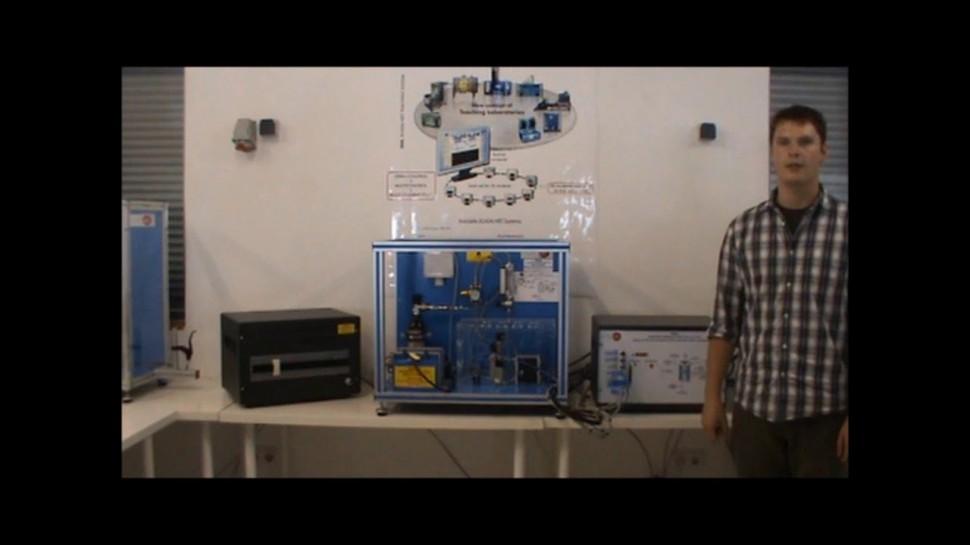 SCADA: Управляемое компьютером РЕМ устройство тепловыделяющего элемента EC5C - видео