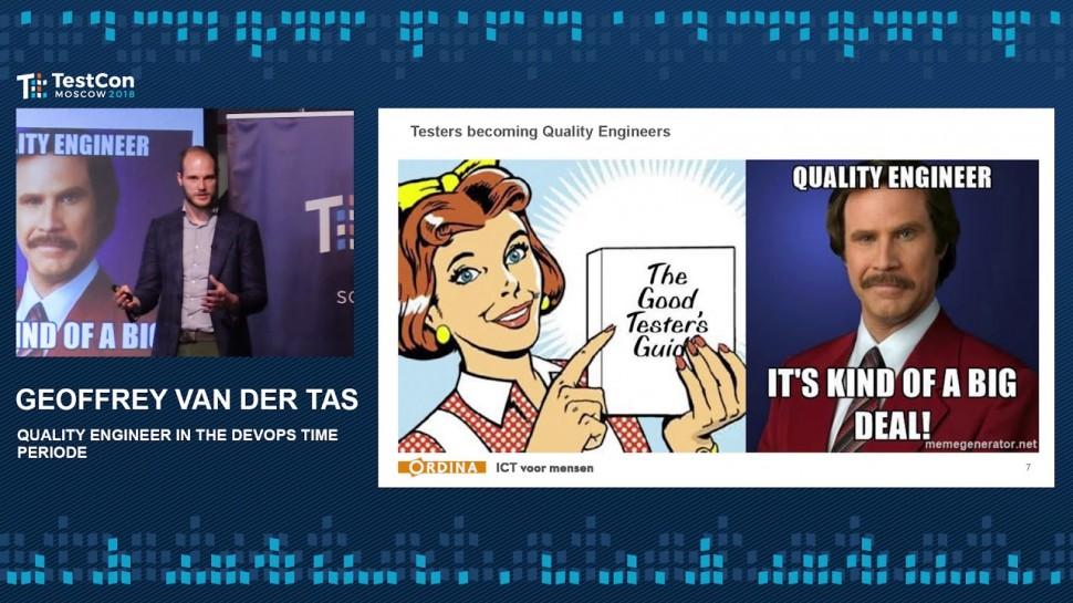 DATA MINER: Geoffrey van der Tas - Quality Engineer in the DevOps Time Periode