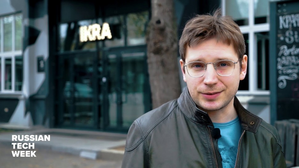 Технократ: Василий Лебедев, основатель и генеральный директор ИКРА на Russian Tech Week