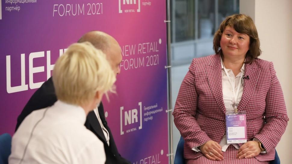 Novardis: Анжела Рябова (Красный Яр) – гость пресс-центра New Retail Forum