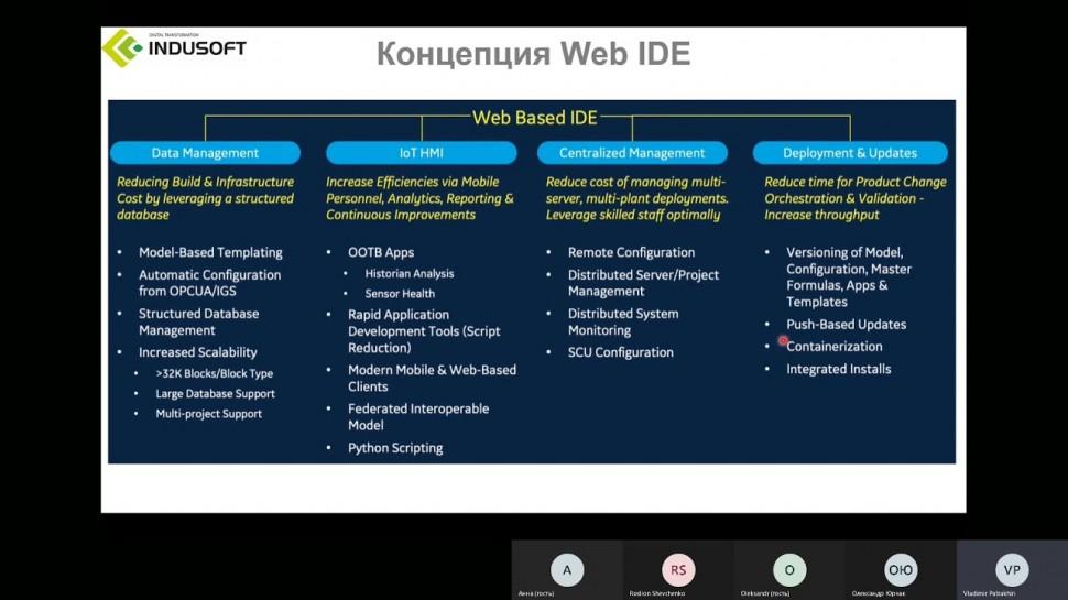 SCADA: Вебинар «Обновление ПО от GE Digital для систем автоматизации и индустриального ИТ» - видео