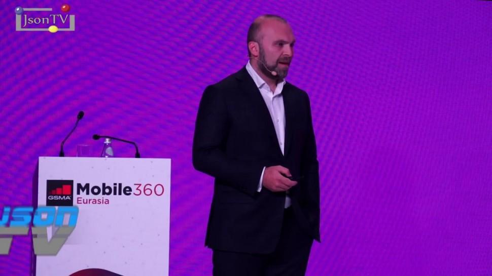 JsonTV: GSMA Mobile 360 – Евразия - Геворк Вермишян, Мегафон