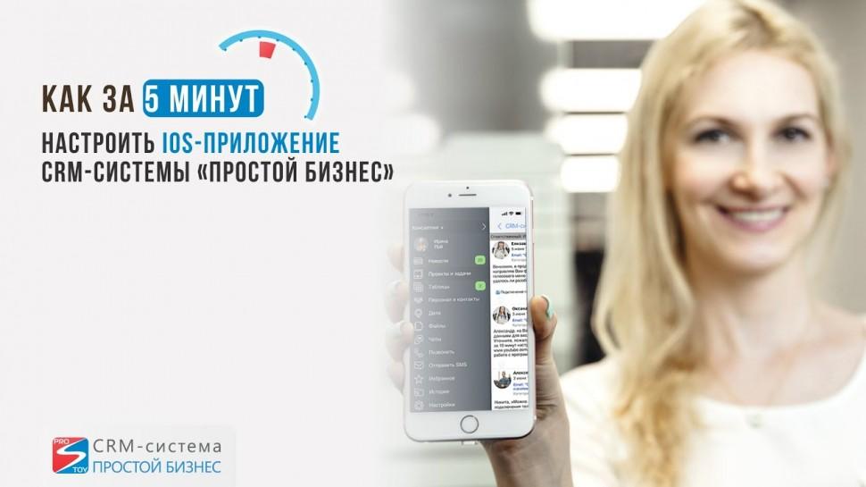 Простой бизнес: Как за 5 минут настроить iOS-приложение CRM-системы «Простой бизнес»