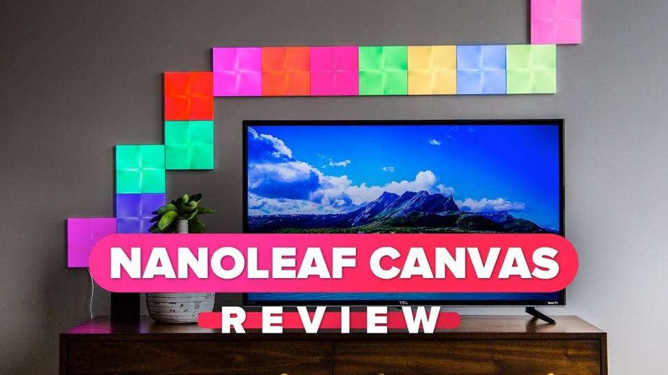 CNET: Nanoleaf Canvas review: cover your walls in color