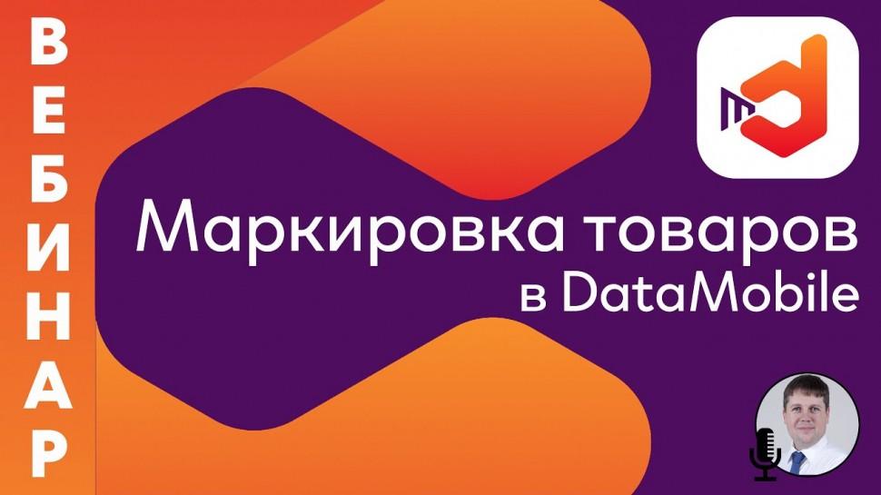 СКАНПОРТ: Маркировка товаров в DataMobile