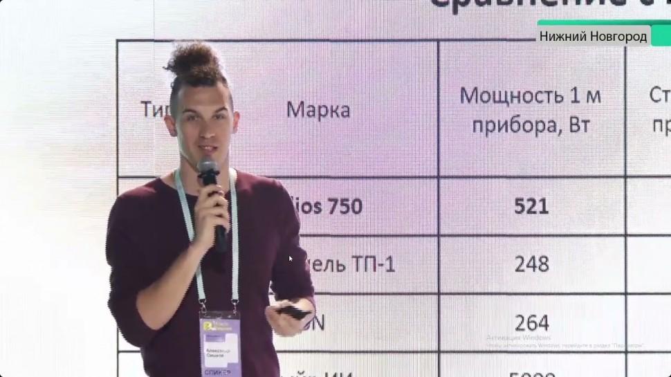 Технопарк «Анкудиновка»: Новаторские проекты простым языком. Диалог с молодыми учеными - видео