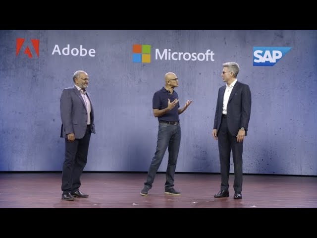 Microsoft CEO: Incumbent on tech industry to create opportunity in every economy