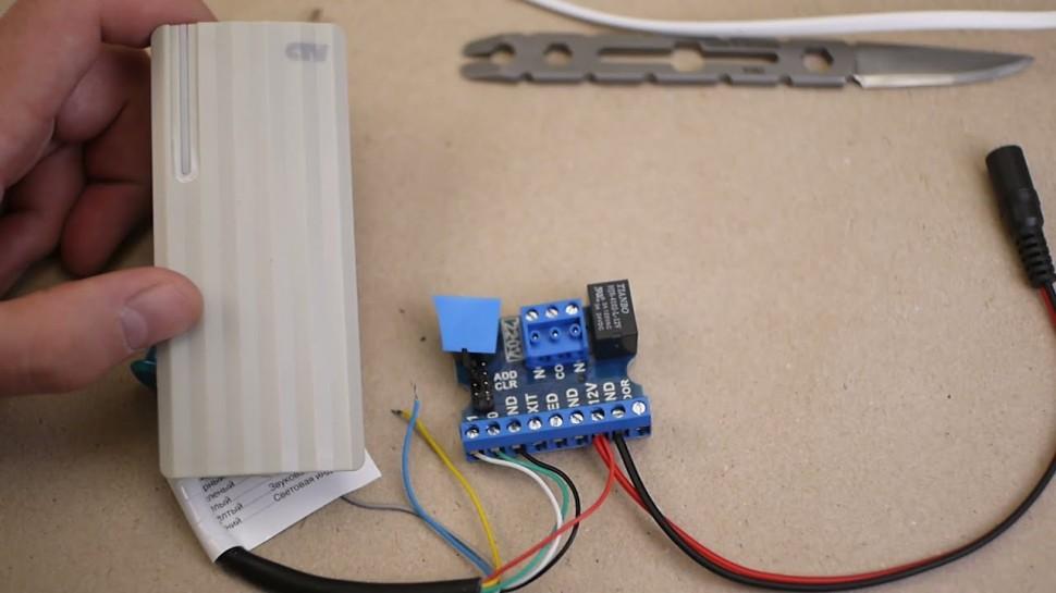SCADA: Настройка контроллера Z5R Wiegand - видео