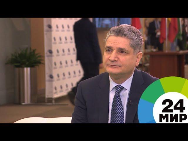 Цифровизация: Тигран Саркисян: Цифровизация – важный для ЕАЭС мировой тренд. ЭКСКЛЮЗИВ - МИР 24 - ви