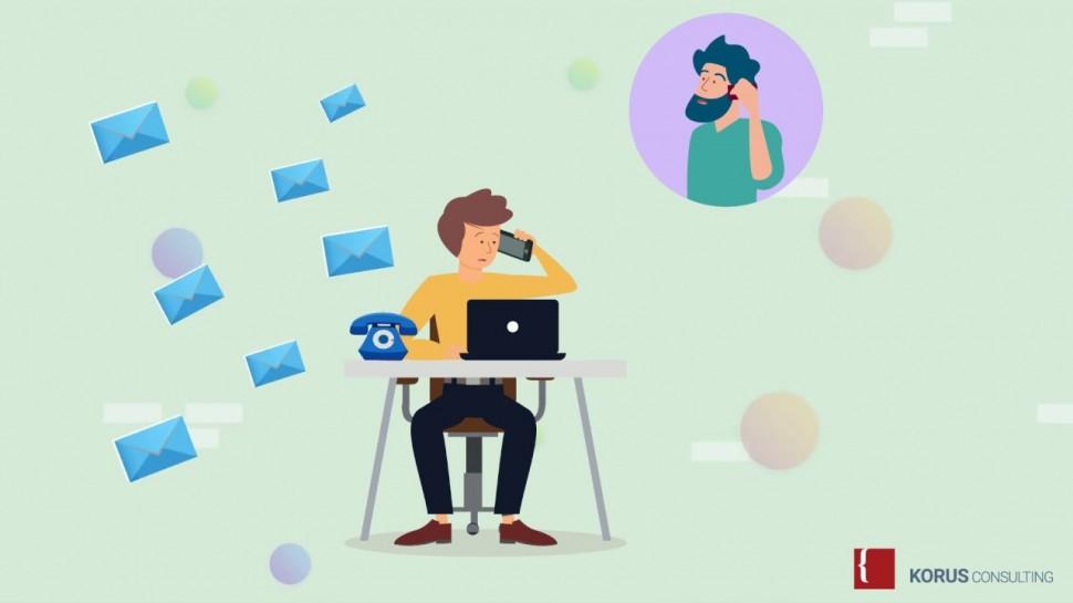 КОРУС Консалтинг: How does KORUS CRM   Messengers work?