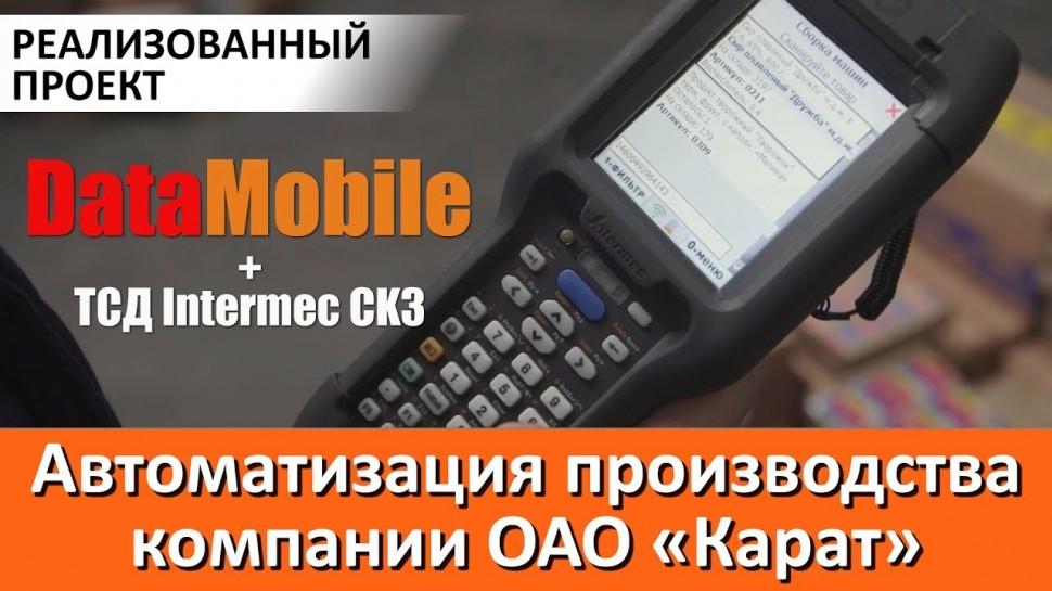 СКАНПОРТ: Автоматизация производства Компании ОАО «Карат»