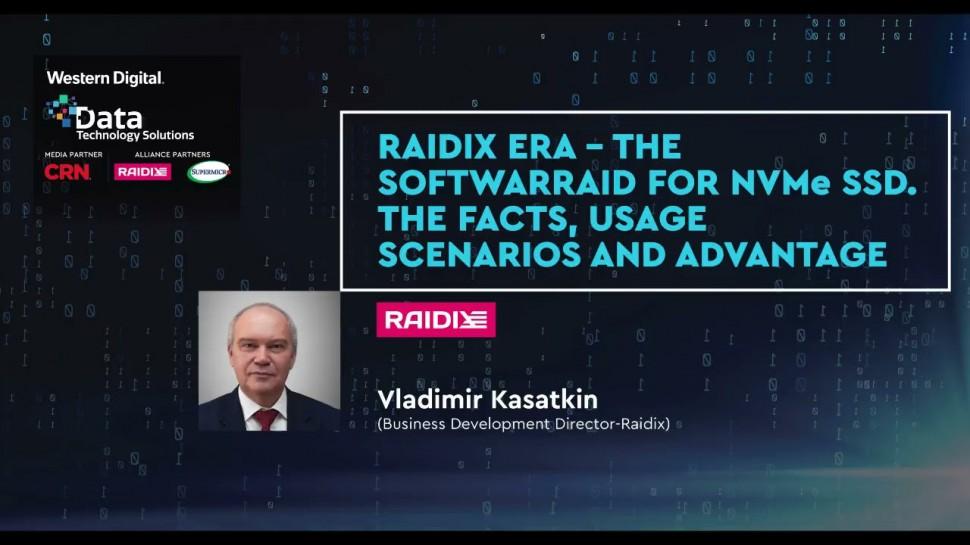 RAIDIX: RAIDIX ERA Presentation (Data Technology Solutions Event | 24th June 2021) - видео