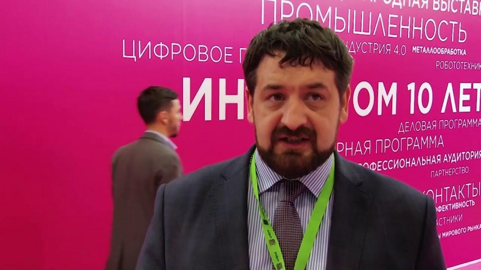 Цифра: Первый день Иннопрома в лицах: Александр Смоленский