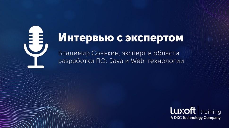 Интервью с экспертом: Владимир Сонькин, эксперт в области разработки ПО, Java и Web-технологии