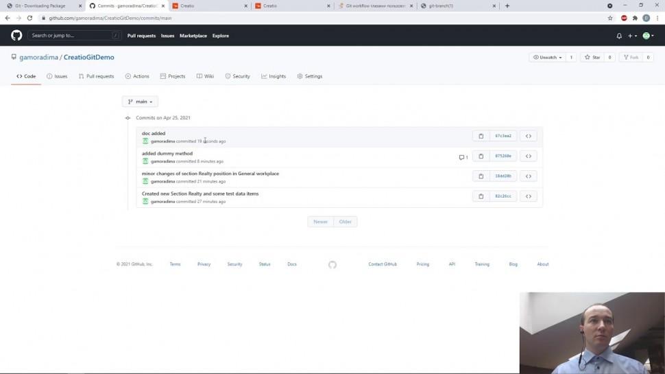 Террасофт: Tech Hour: Командная работа над проектом. Creatio + Git
