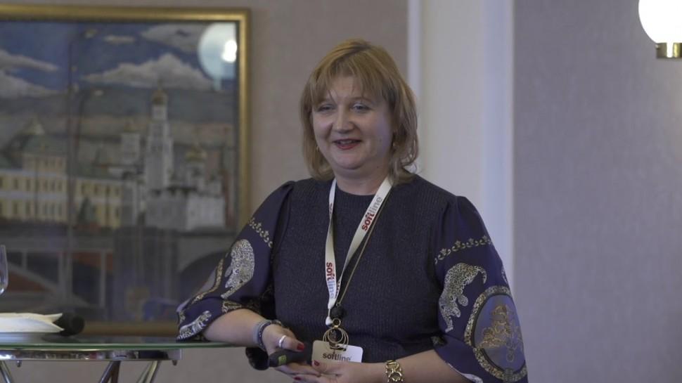 Softline: Компания Softline подвела итоги 2018 года. Ирина Кривенкова.