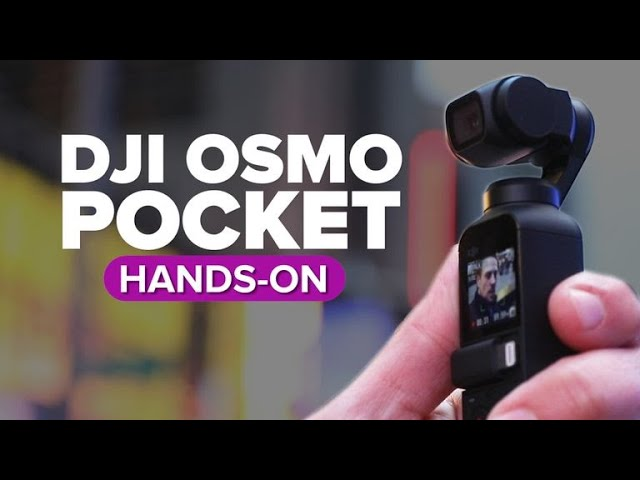 CNET: DJI Osmo Pocket first look