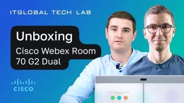 ITGLOBAL: Современные переговорные комнаты: Webex Cisco Room 70 G2 Dual UNBOXING и инсталляция. - ви