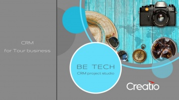 Be Tech: Видео презентация Tourism CRM Creatio - Be Tech - видео