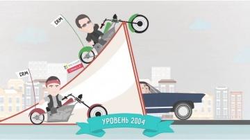 AT Consulting: Анимациионный ролик к 15-летию