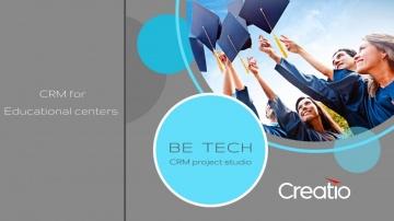 Be Tech: CRM для образовательных компаний Education Creatio от Be Tech - видео