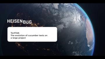 Heisenbug: Сергей Разуваев — Эволюция cucumber-тестов на большом проекте - видео