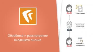 Directum: Обработка и рассмотрение входящего письма (веб-клиент)