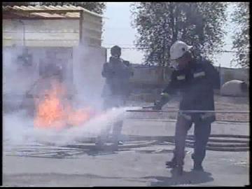 Layta: Тушение жидкого пропана с помощью огнетушителя «ПРОТЕКТ»
