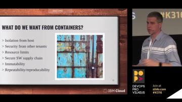 DATA MINER: It's 2018; Are My Containers Secure Yet?! by Phil Estes