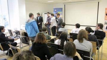 IBS: Награждение лауреатов конкурса Роботрафик 11 апреля 2012