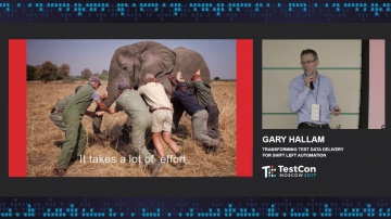 DATA MINER: Gary Hallam - Transforming Test Data Delivery for Shift Left Automation (Closing Keynote