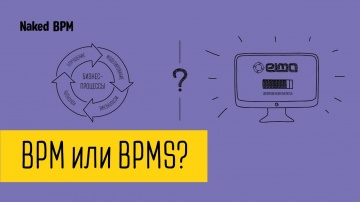 Разница понятий BPM и BPMS | Naked BPM