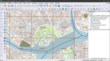 ГИС: ZuluGIS 8.0 Копирование фрагмента карты в буфер обмена - видео