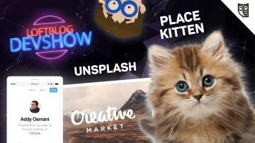 LoftBlog: Котики, Creative Market, Стоян Стефанов и крутые JavaScript-фоны - видео