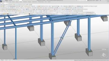 Autodesk CIS: ADVANCE STEEL 2020. Разработка документации разделов «КМ» и «КМД