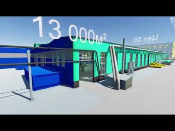 2050-Интегратор: 3D анимация электромашинного производства