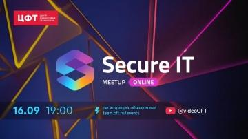 Secure IT Meetup || 16.09.2020 - видео