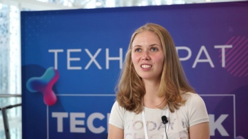 Технократ: Елена Попкова на Russian Tech Week