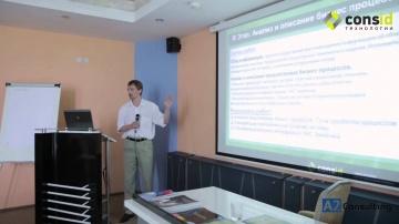 ConsID: Семинар OHE.WMS в Минске. Подходы к внедрению WMS систем на складах