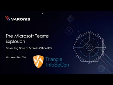 DLP: Varonis - Microsoft Teams Explosion: How to Prevent Data Leaks - видео