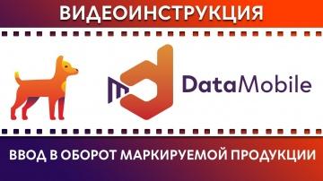 СКАНПОРТ: DataMobile: Урок № 20. Ввод в оборот маркируемой продукции