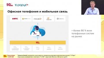 1С-Рарус: Новые каналы взаимодействия с клиентами в 1С:CRM – маркетплейс ВКонтакте, B2B-портал и дру