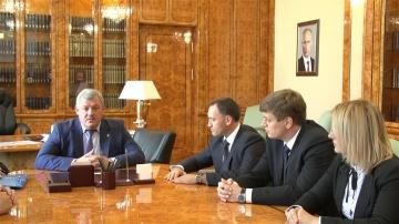 Рабочая встреча с Директором Ассоциации кластеров и технопарков Андреем Шпиленко