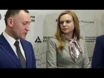 Ассоциация кластеров и технопарков: деловая миссия в Технопарке Мордовия, пресс-подход