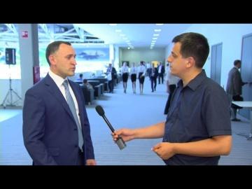 """Ассоциация кластеров и технопарков: Интервью на форуме """"Технопром"""" Новосибирскому областному телека"""